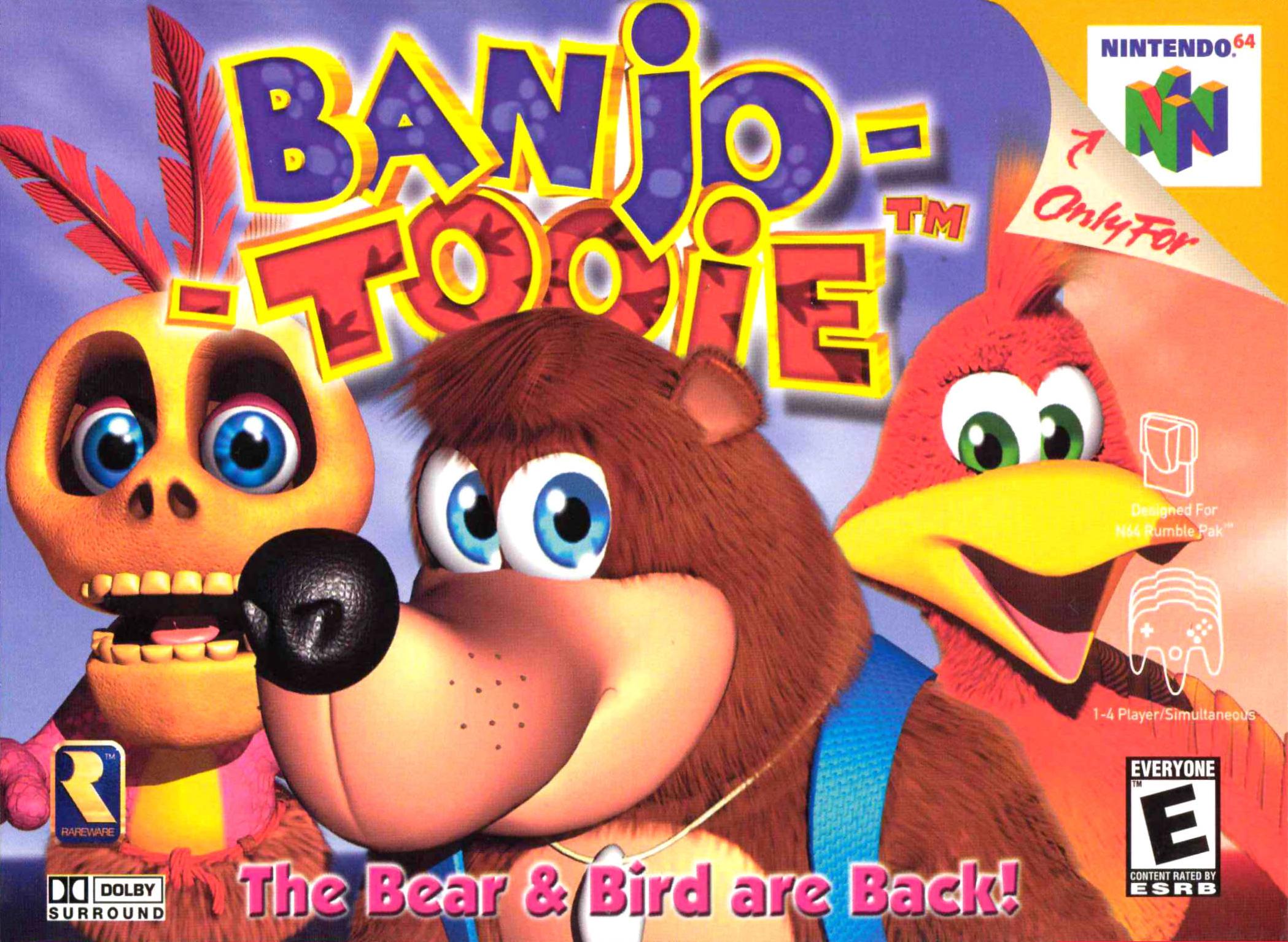 Banjo Tooie Nintendo 64 Games N64 Games Banjo Kazooie