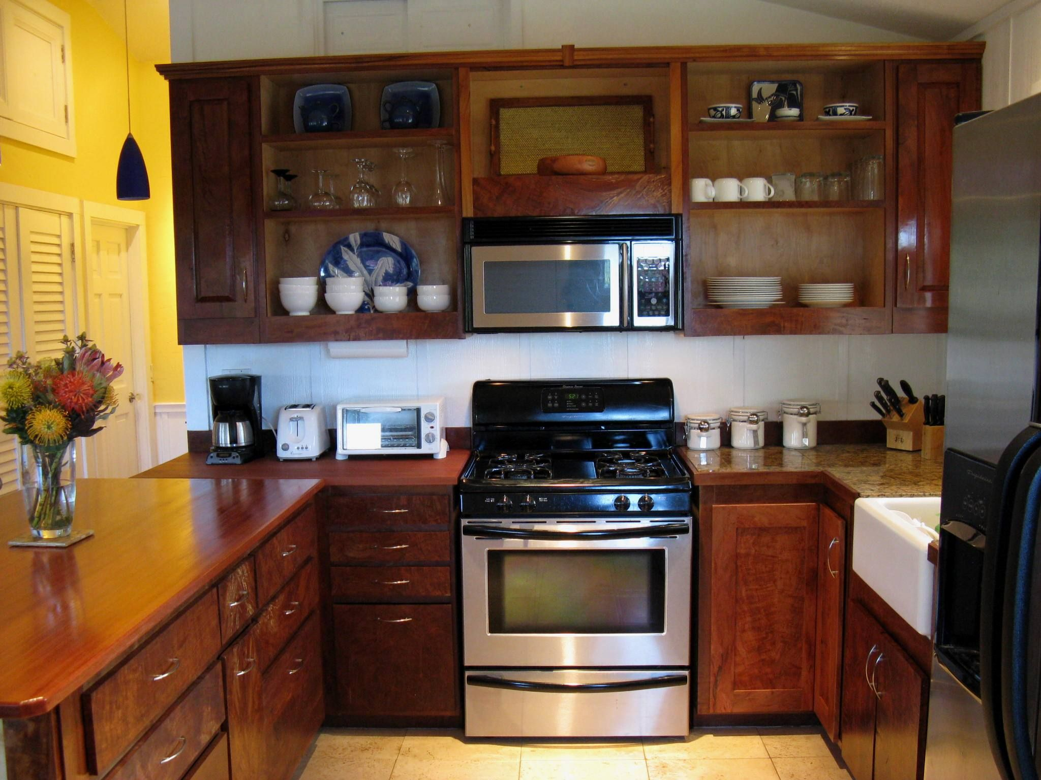 Full Size Kitchen In The Meadow Cottage With Lychee And Eucalyptus Wood Kitchen Kitchen Cabinets Home Decor