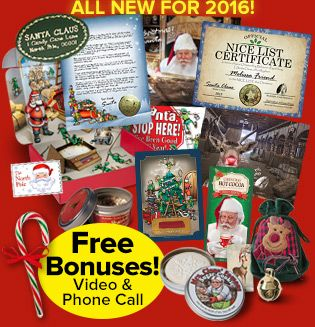 Platinum package from santa christmas pinterest santa order personalized letters from santa for your child includes genuine santa letter nice certificate reindeer food letter from rudolph and more spiritdancerdesigns Image collections