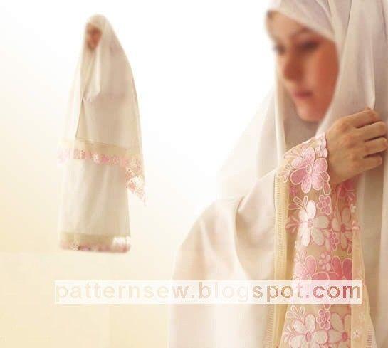 Pattern Sewing باترون مفصل لإسدال الصلاة Fashion Couture Pattern