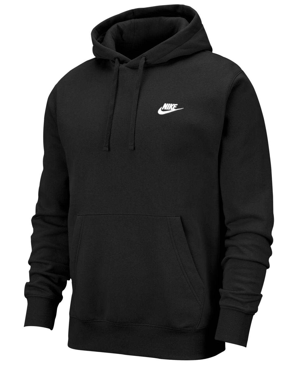 Plain BLACK Cotton Rich Hoody Hoodie Hooded Sweat No Logo S-XXXL
