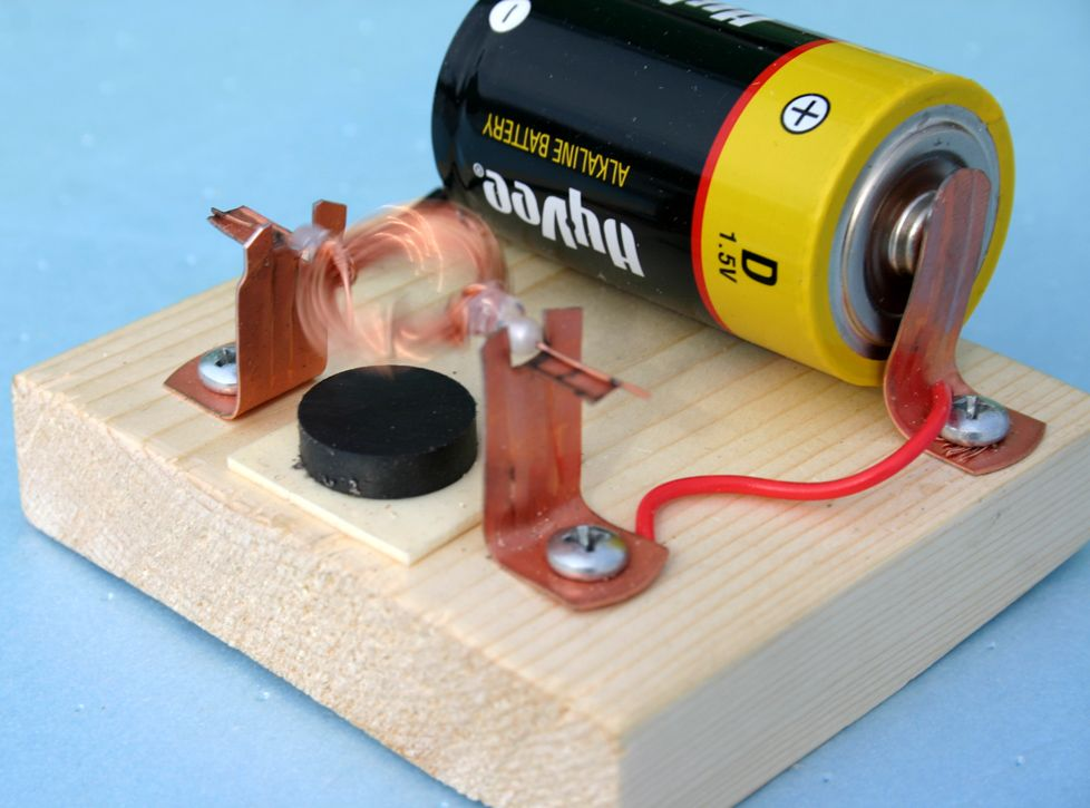 Building and improving a simple electric motor http www for Simple electric motor science project