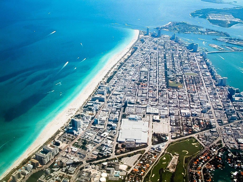 Miami beach photo from airplane miami beach top tourist attractions save up to 80
