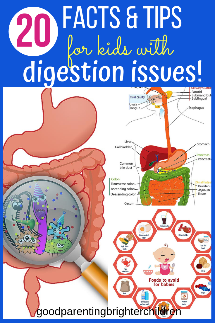 20 Important Things You Didn't Know About Kids & Digestive