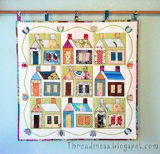 Free pattern day! House quilts (Quilt Inspiration) | House quilts ... : house quilt patterns - Adamdwight.com