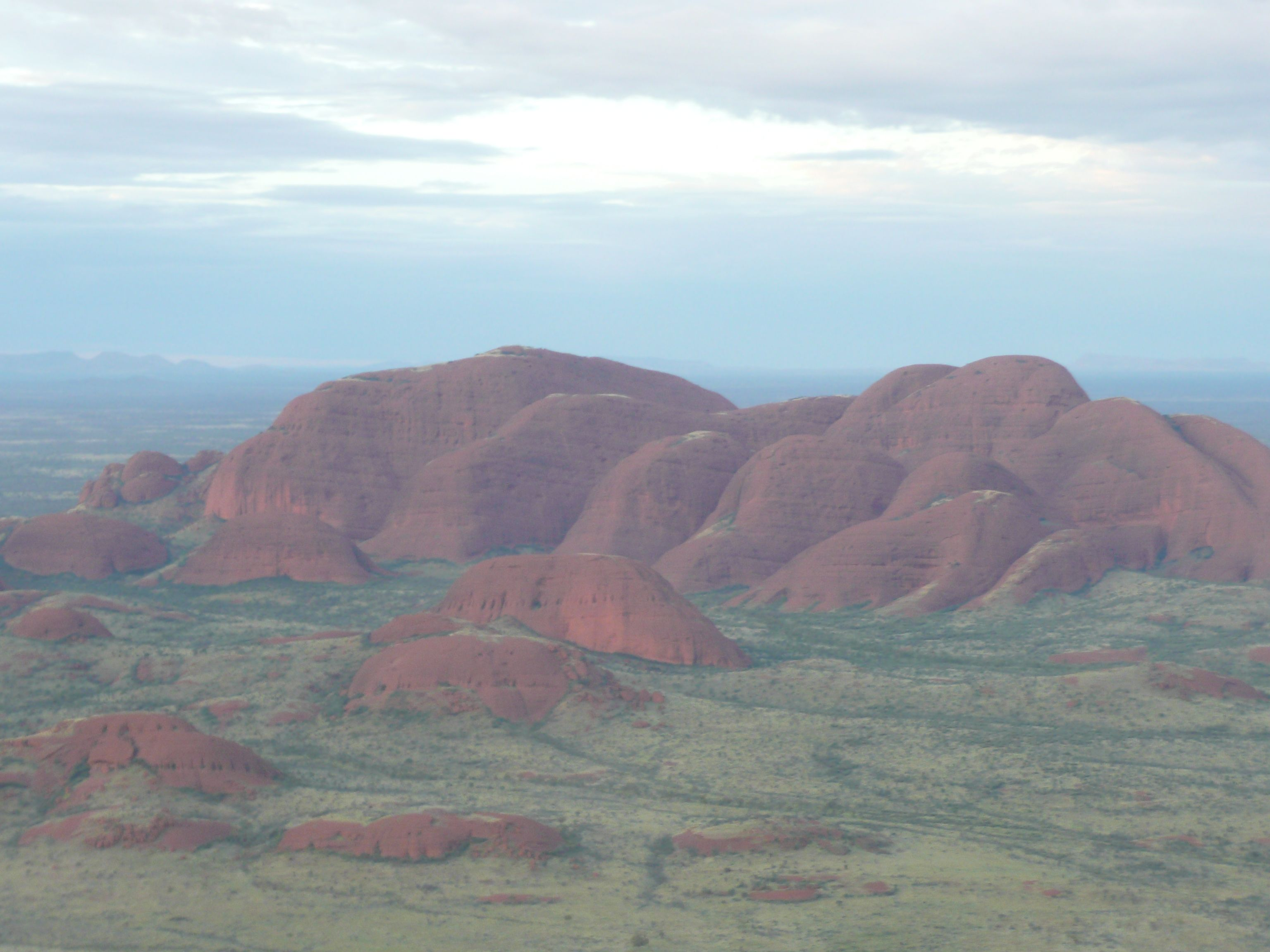 2000/2001 - The Olgas - KataTjuta is the Aboriginal name meaning 'many heads.'  Australia Outback