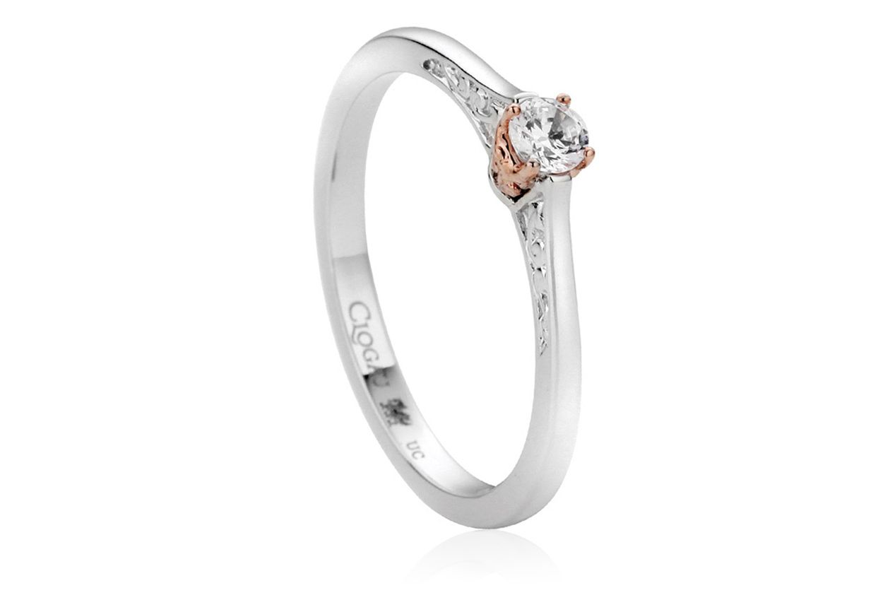 Clogau Princess Engagement Ring Weng4 Rings Gold