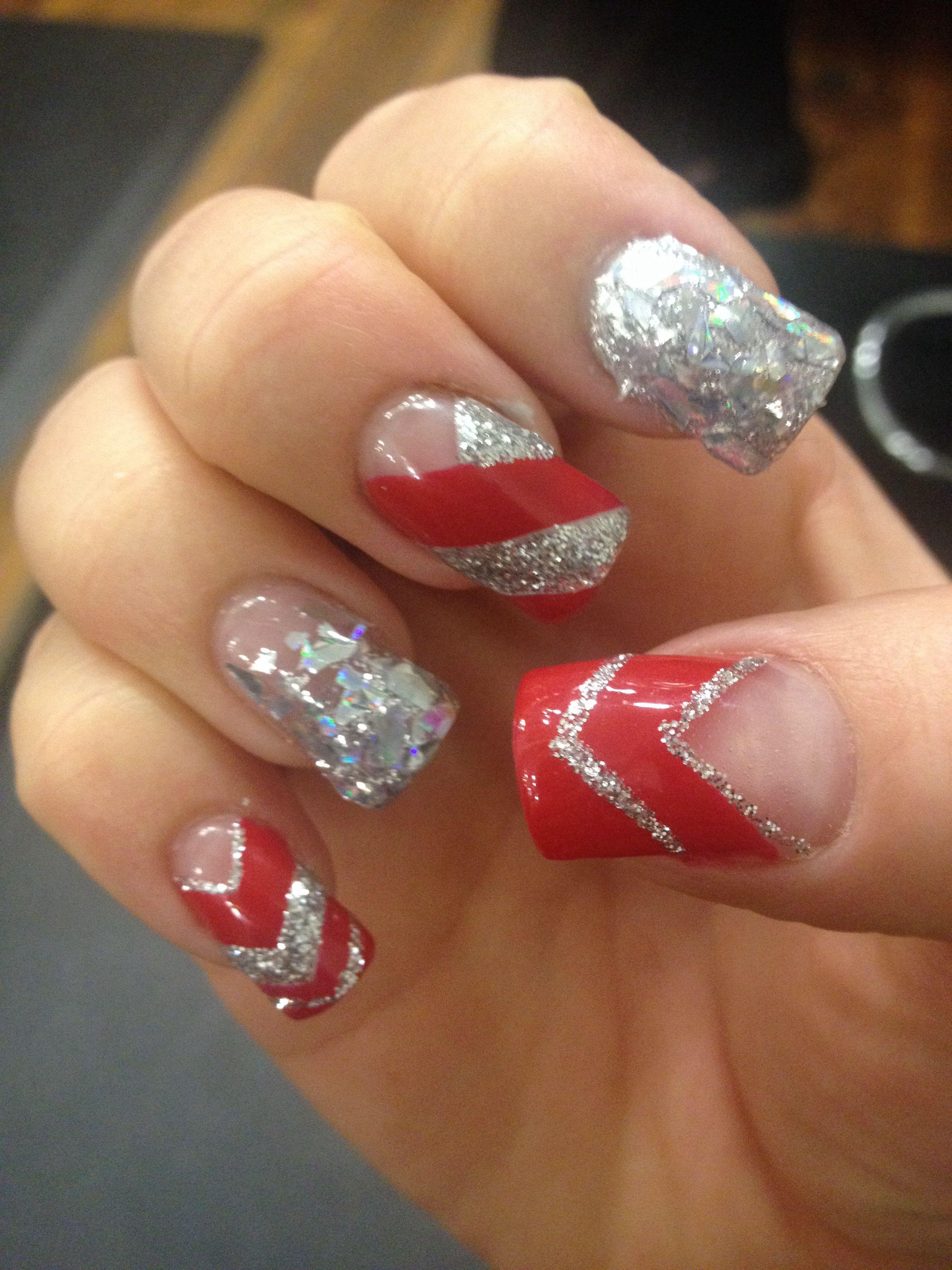 My Holiday Nails Nails Nailart Acrylic Christmas Christmasnails