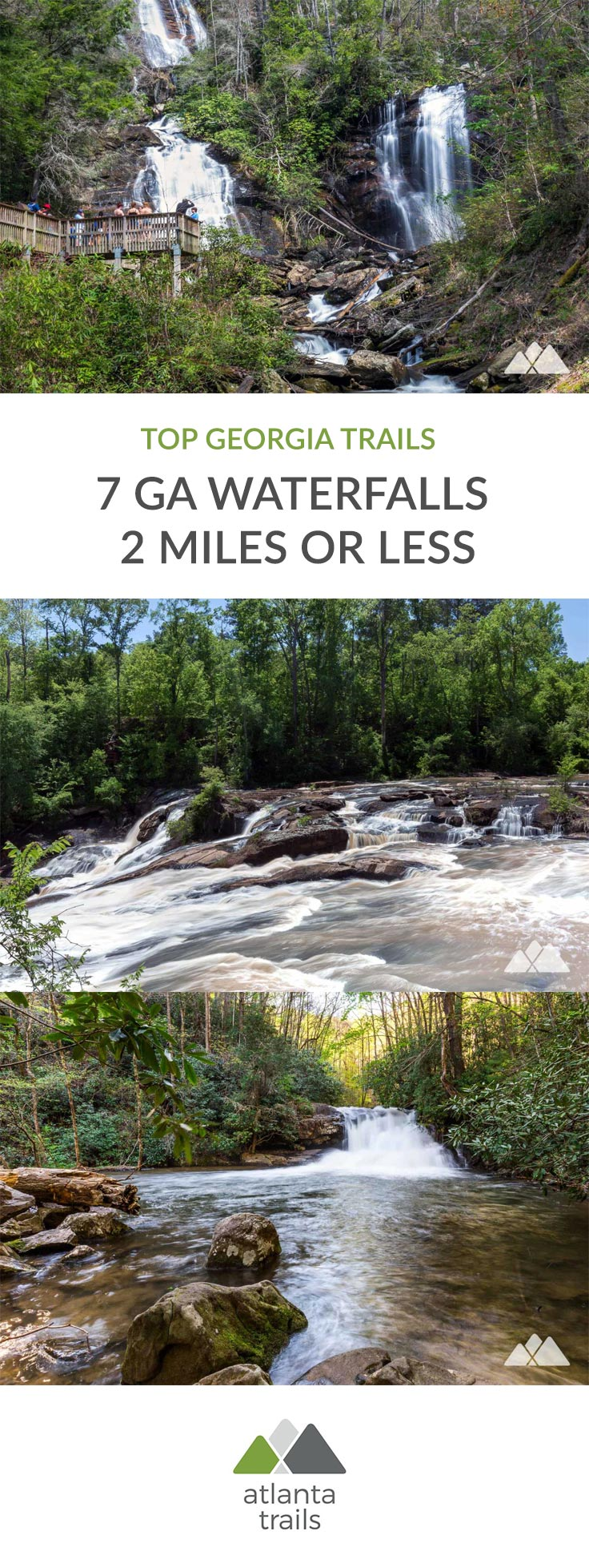 7 Short (but great!) Georgia Waterfall Hikes Under 2 Miles