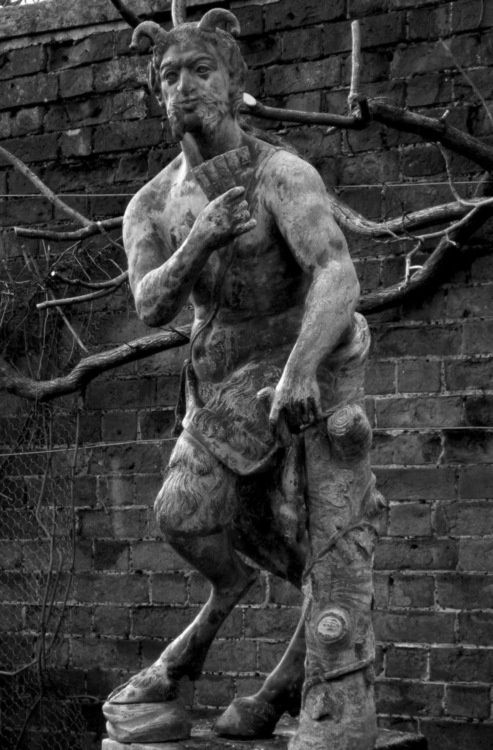 Pan Garden Statue (I Imagine It In A Wooded Garden)