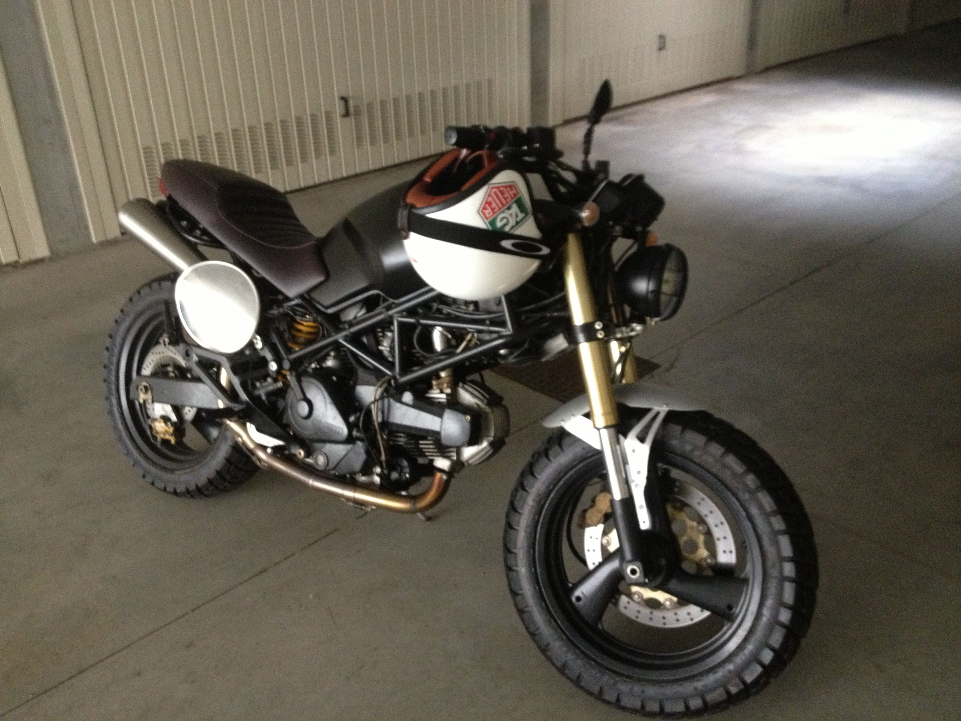 Ducati Monster 600 Mud Special Monster Racer Project Ducati