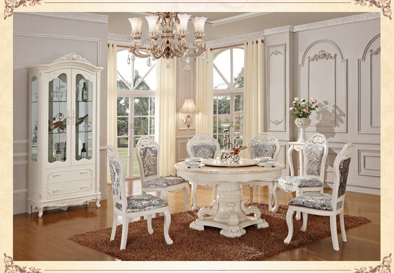 Luxury & Classical Dining Room Furniture Setsoild Woodhand Inspiration Antique Dining Room Table And Chairs Inspiration