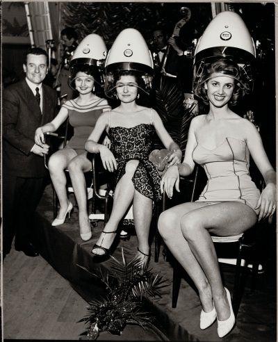 Wella creates Welonda Salon Equipment, 1954 #hair #vintage | Vintage ...