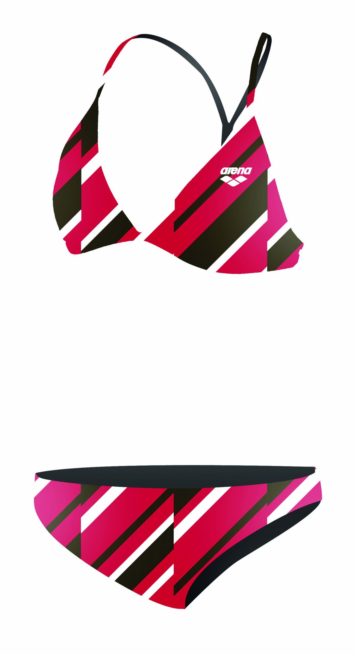 Alvivi Kids Girls One Piece Colorful Swimsuit Sleeveless Racer Back Bikini Swimwear Bathing Suit Beach Wear