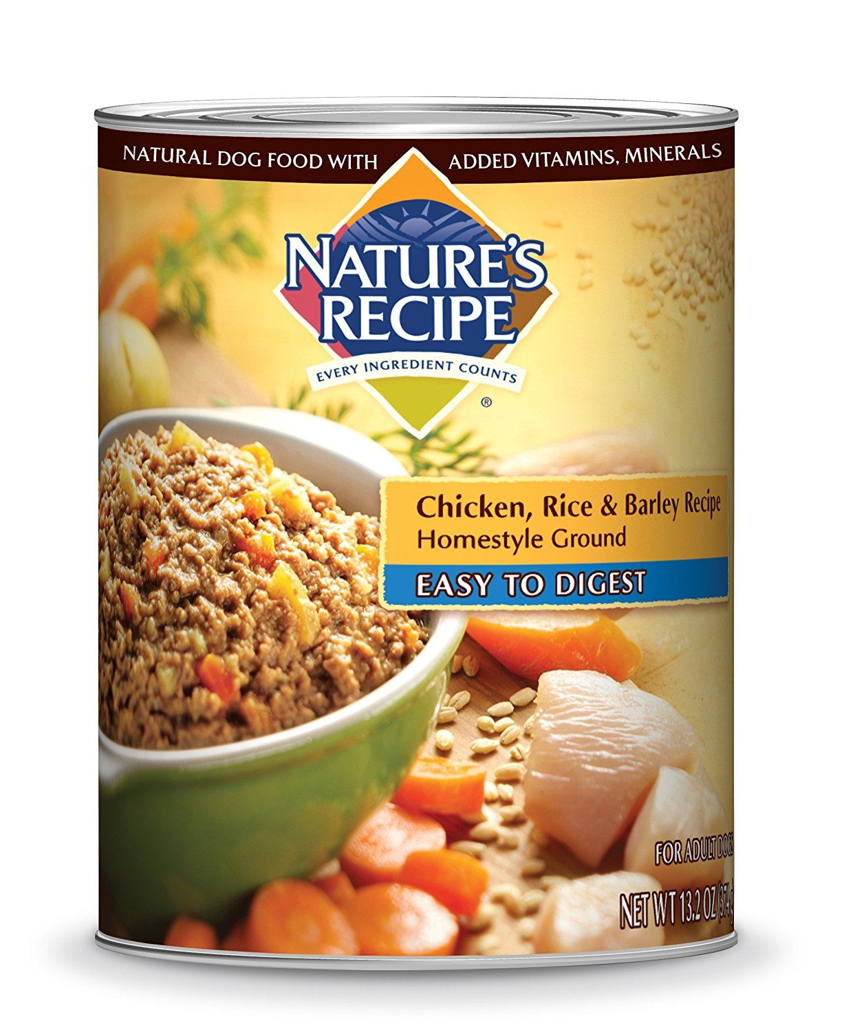 Nature S Recipe Homestyle Ground Wet Dog Food For More Information Visit Image Link This Is An Affiliate Link Foo Dog Food Recipes Food Canned Dog Food