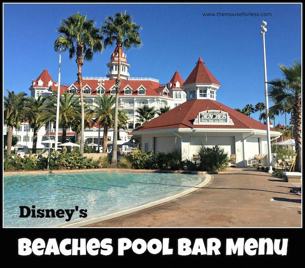 Beaches Pool Bar And Grill Menu Grand