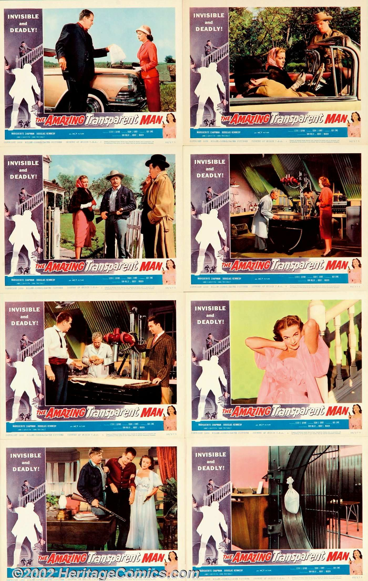 Amazing Transparent Man (1960)