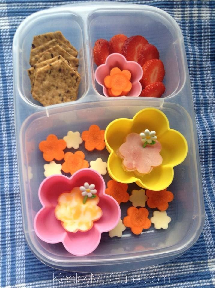 Spring school lunch packed in @EasyLunchboxes