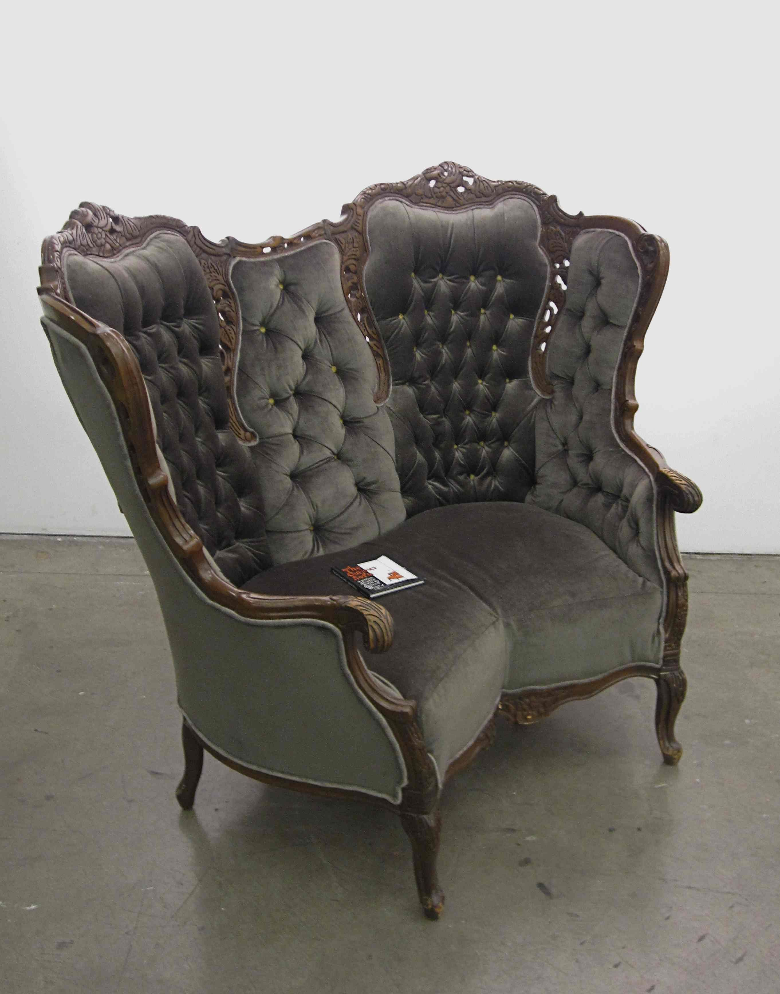 Modern victorian furniture - Cca Star Student Michele Marti Talks About Rejuvinating Victorian Chairs By Spreading Their Legs And Getting Very Naughty Family Tree At Petaluma Arts