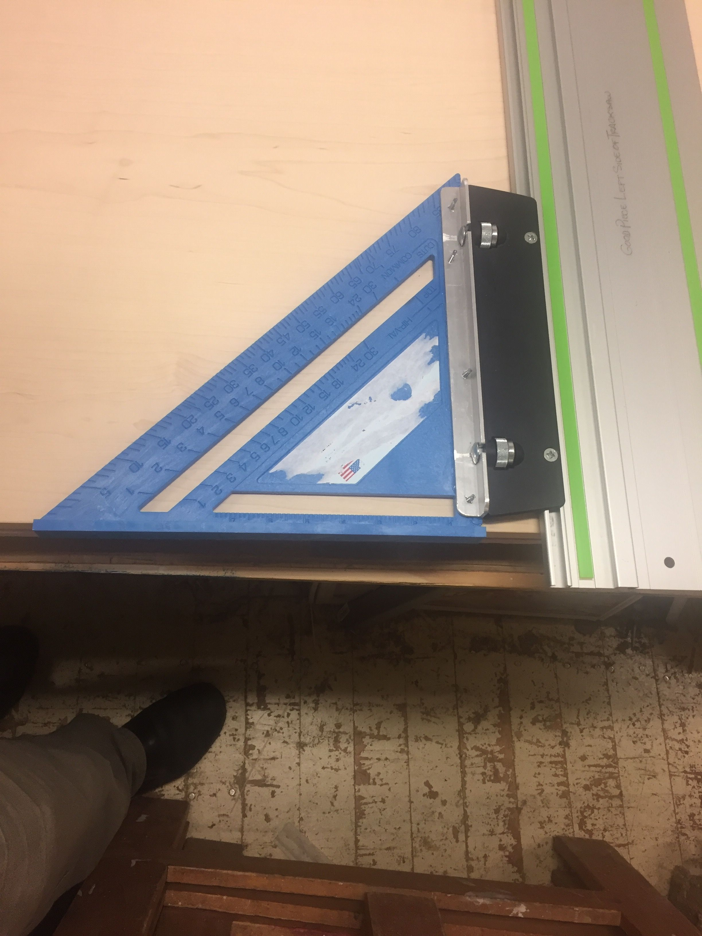 My Festool track saw speed square. (With images) Festool
