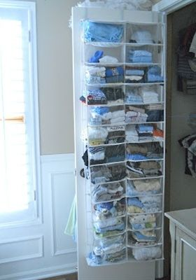Great Idea When You Have A Small Closet Baby Clothes Storage Baby Storage New Baby Products