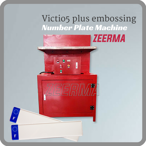 Number Plate Suppliers >> Supply Victio5 Plus Embossing Press Of Number Plate Making