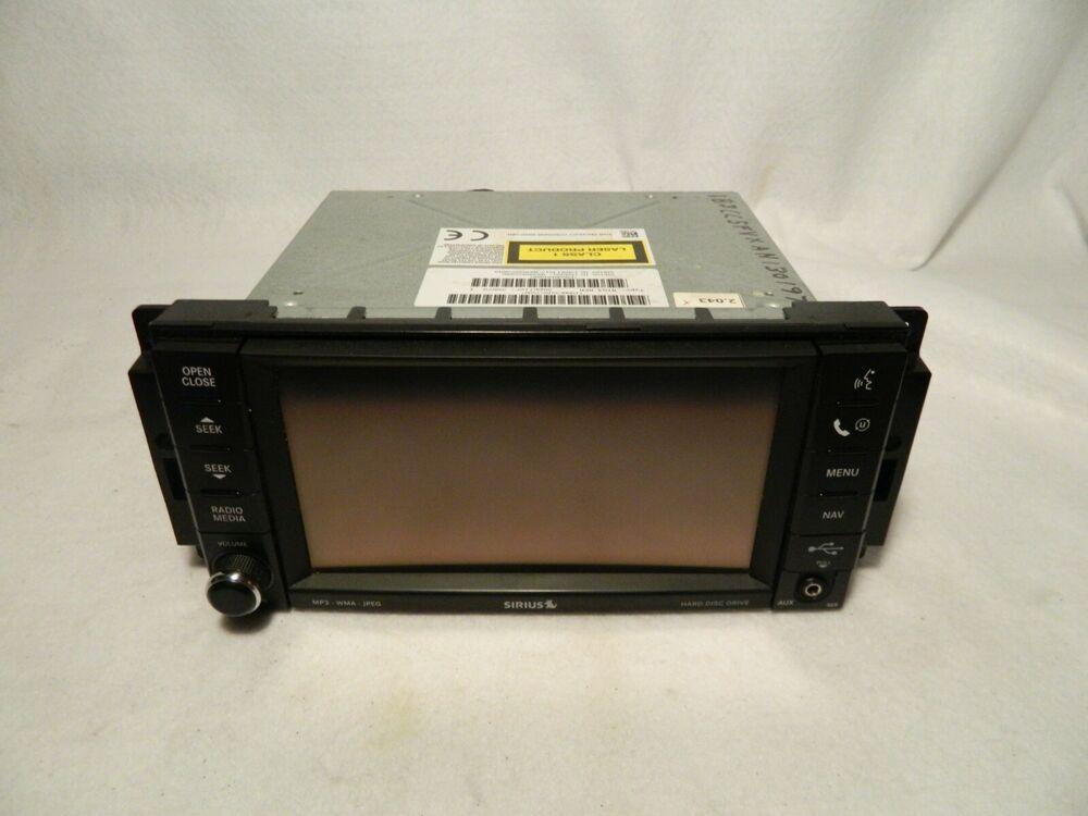 2008 13 Chrysler Dodge Jeep Navigation Gps Screen System