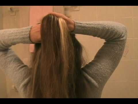 How To French Braid Your Own Long Hair Style Easy Step