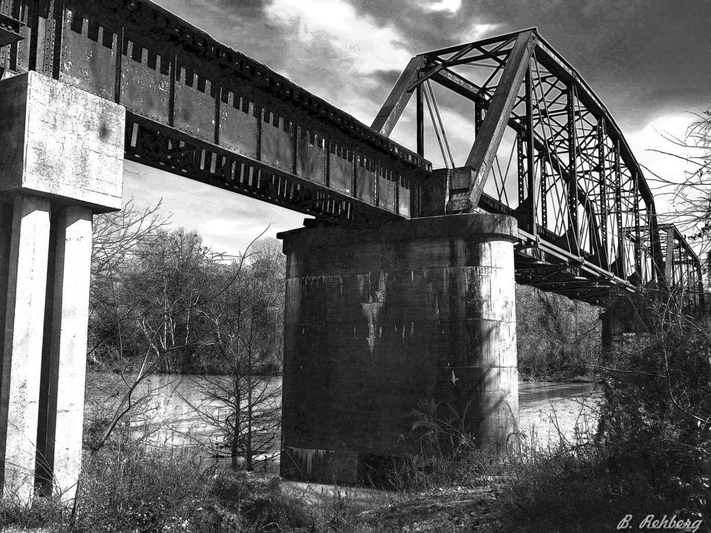 train bridge over the flint river in albany ga betty rehberg s train bridge over the flint river in albany ga