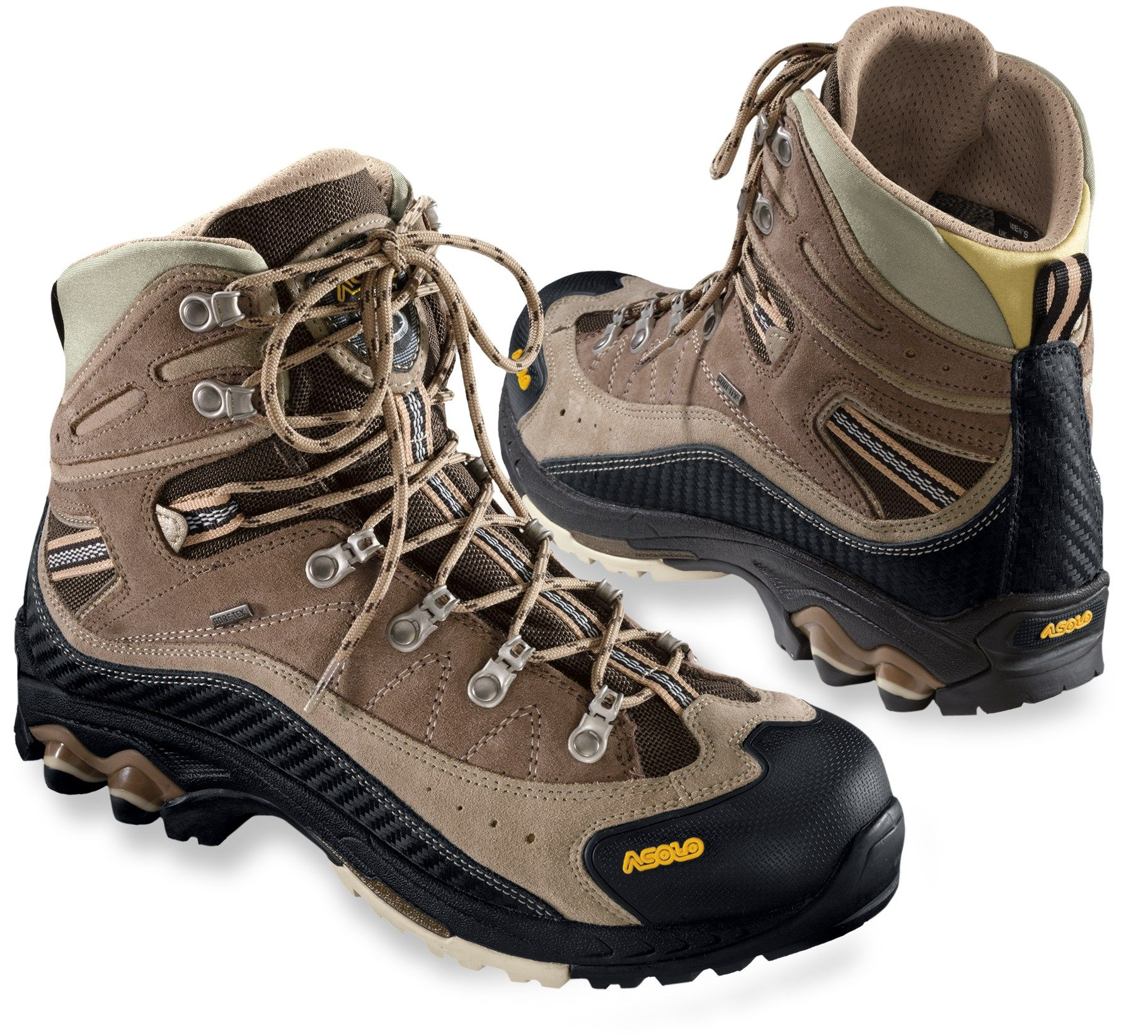 Asolo Men's Moran GTX Hiking Boots Dark Sand/Nicotine 14