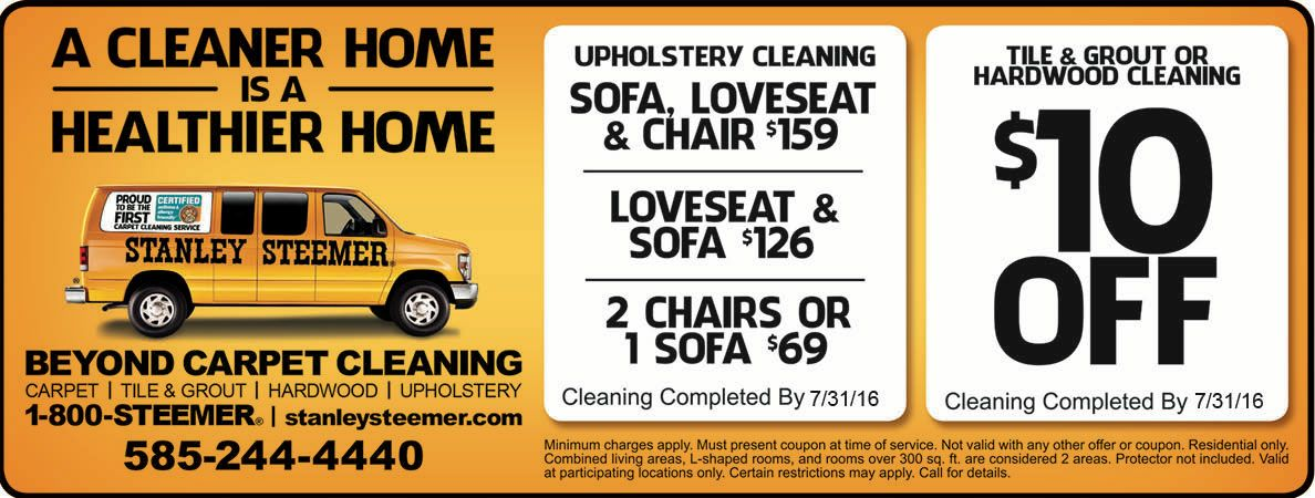 image regarding Stanley Steemer Coupons Printable named Stanley steamer over and above carpet cleansing discount coupons rochester ny