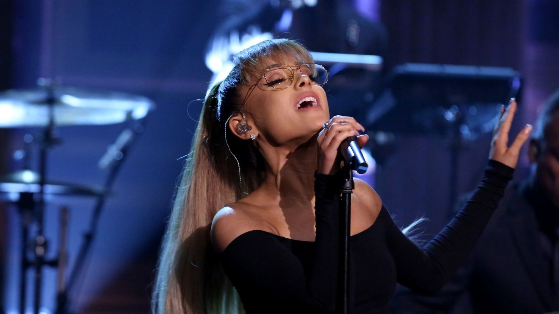 Ariana Grande Hair Down American Idol