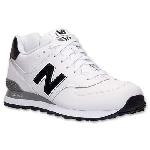 New Balance Men\u0027s 574 Leather Casual Sneakers from Finish Line