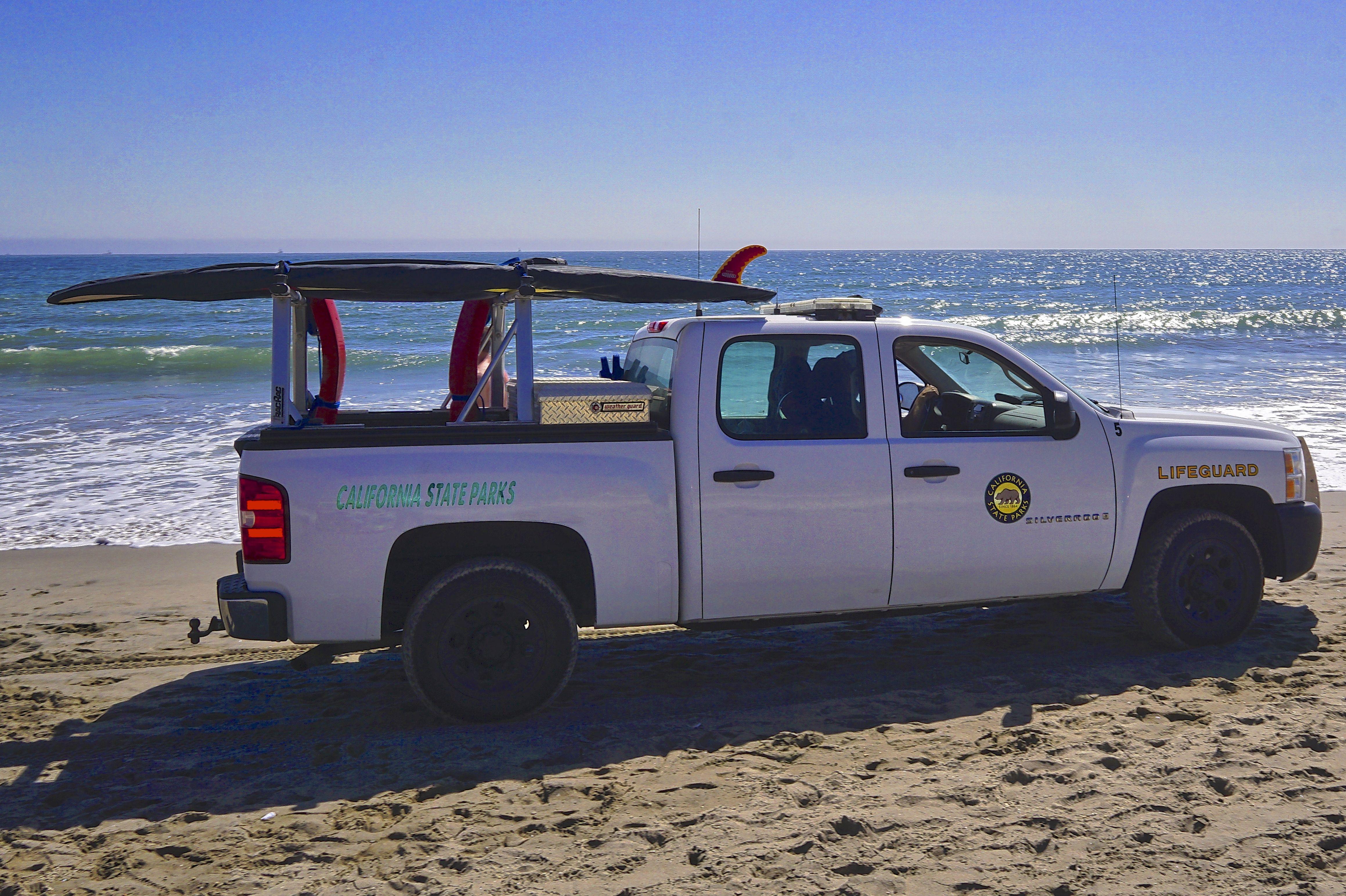 California State Parks Lifeguard Chevrolet Silverado. 2016