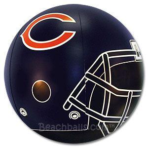 Chicago Bears Beach Ball for $14.95 each