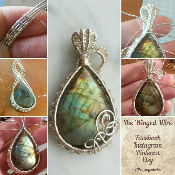 Photo of The Winged Wire. Wire wrapped jewelry and decor. by TheWingedWire