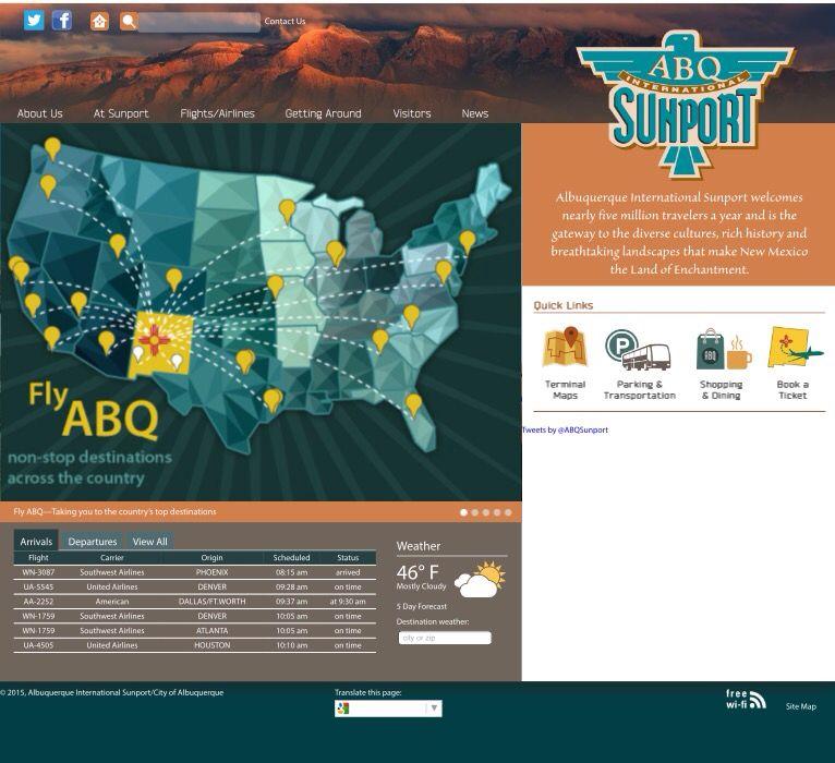 Abq Sunport Information Albuquerque Nm Usa Hyatt Regency