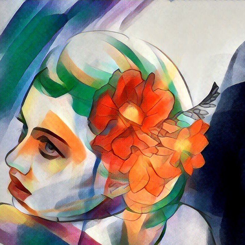I Added A Prisma App Filter To My Drawing And Am Loving The