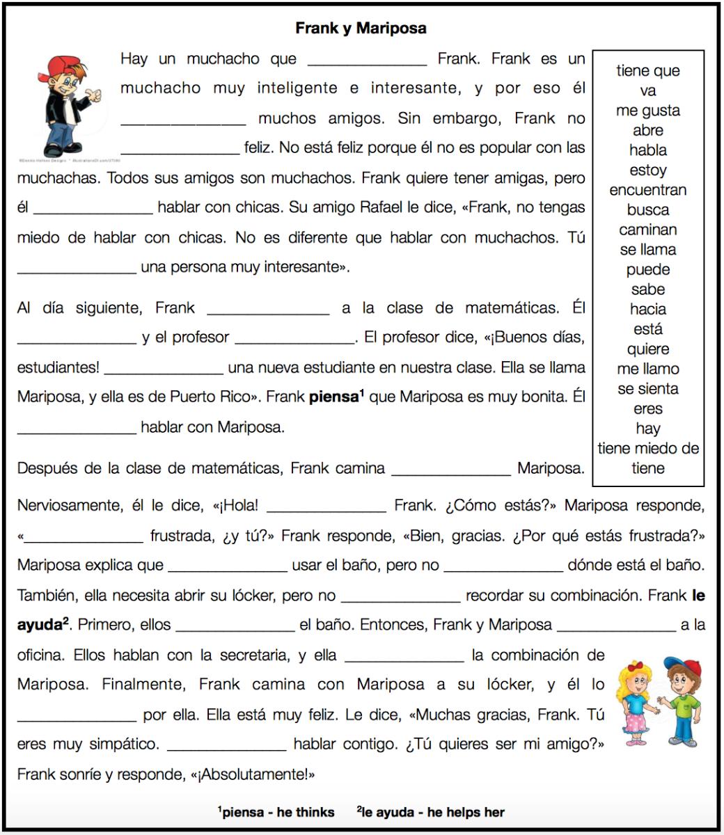 1a Midterm Gramatica Pinterest