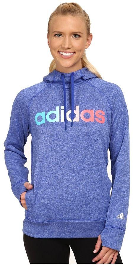 09405438e942 adidas Ultimate Fleece Logo Pullover Hoodie