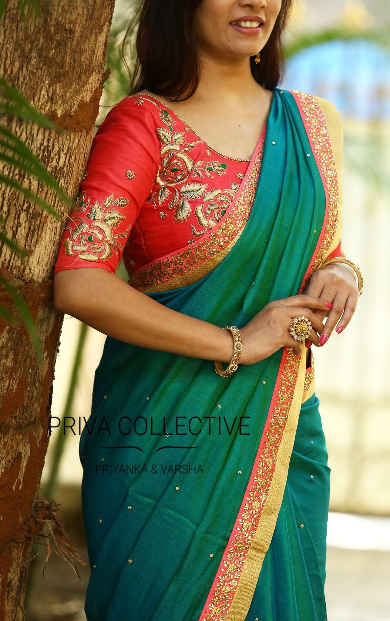 32   Designer saree blouse patterns, Saree designs, Blouse ...