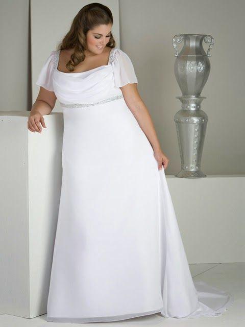 moda estilo y distinción para gorditas: vestidos de novia talles