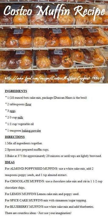 copycat cosco muffin recipe