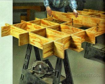 Diy Vertical Panel Saw Circular Tips Jigs And Fixtures Woodwork Woodworking Plans Projects