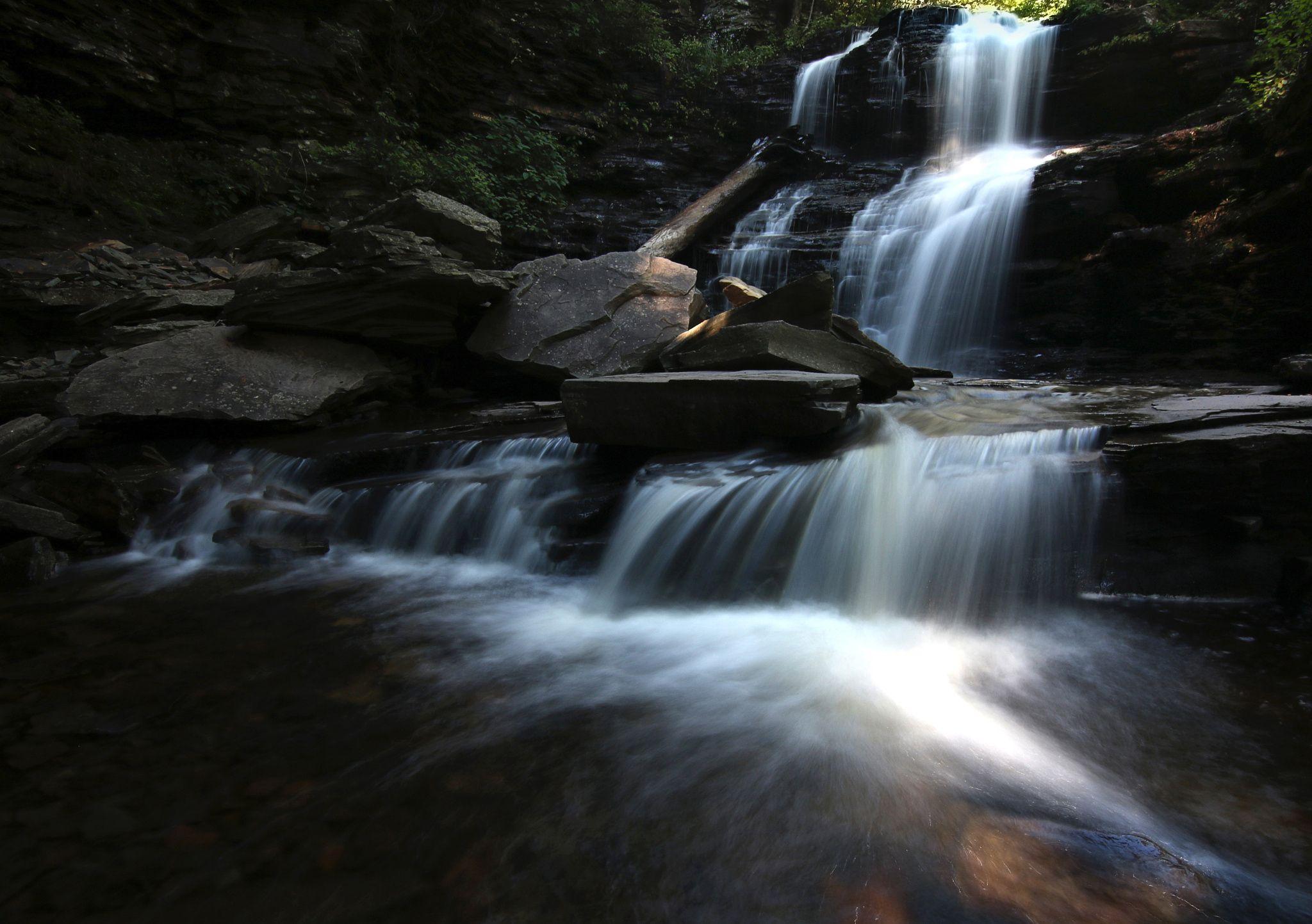 Photo Waterfall at Ricketts Glen One by Joe Matzerath on 500px