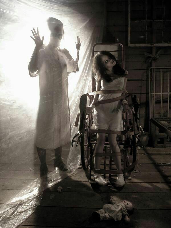 Insane Asylum Haunted Hospital Creepy Pictures Halloween Haunted Houses