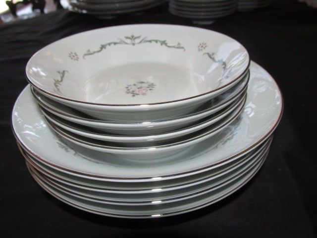 Vintage Porcelain Dinnerware Signature Collection Petite Bouquet 114 MS JAPAN