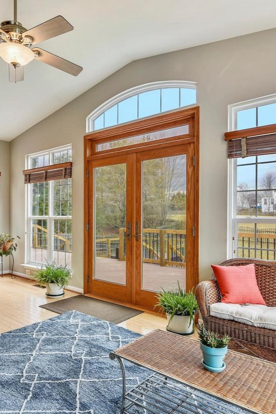 Transom Windows And A Bright Sunny Day A Great Way To Relax