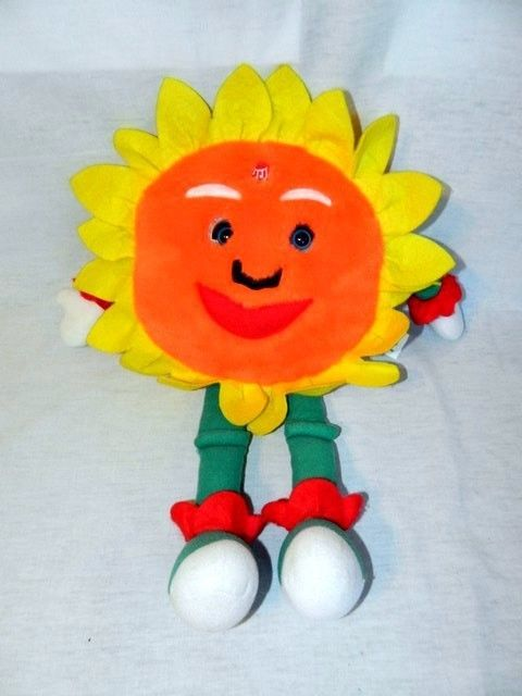 18 Plush Sunflower Singing You Are My Sunshine Stuffed Creature
