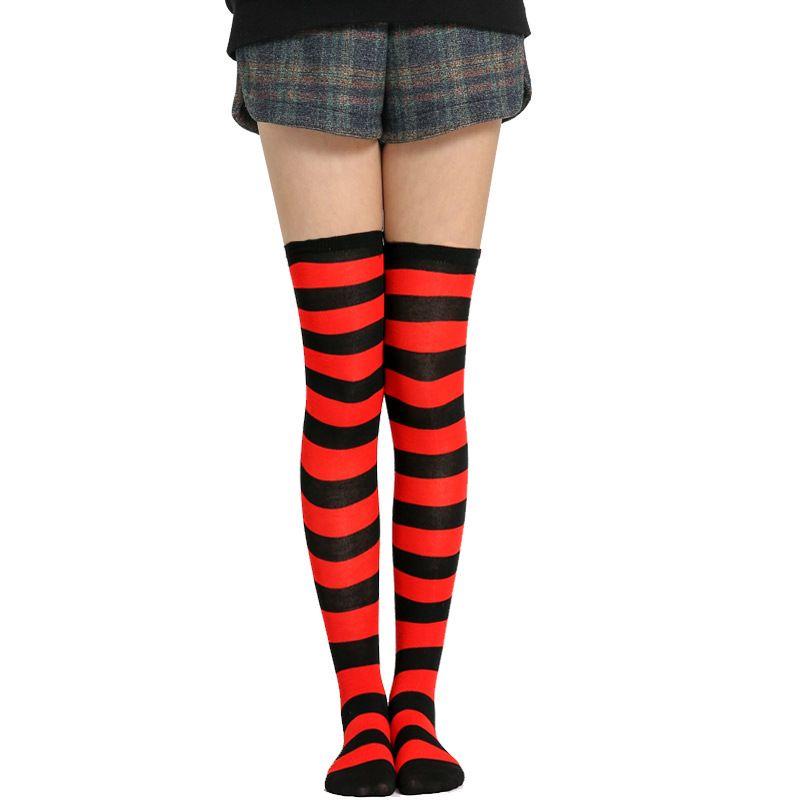 Womens Toe socks Cotton Crew Five Finger Socks For